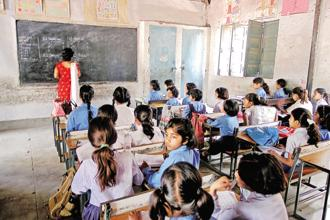 Calling it a 'holistic approach to education', the government said the integrated school education scheme will lead to 'an integrated administration looking at school as a continuum'. Photo: HT