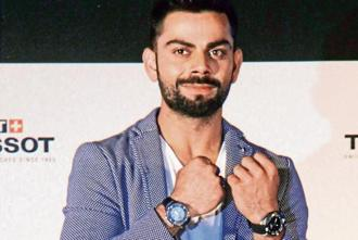 Indian cricket team captain Virat Kohli has a business portfolio that rivals most international athletes. Photo: HT