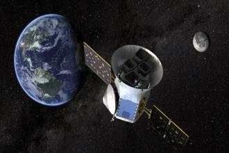 TESS, the Transiting Exoplanet Survey Satellite, is shown in this conceptual illustration obtained. NASA plans to send TESS into orbit from the Kennedy Space Center in Florida aboard a SpaceX Falcon 9 rocket on April 16 on a two-year mission. Photo: Reuters