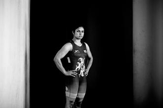 Navjot Kaur scripted history by becoming the first Indian woman to win gold at the Asian Wrestling Championships earlier this month. Photos: Priyanka Parashar/Mint