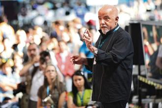Paulo Coelho. Photo: Getty Images
