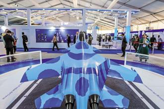 DefExpo 2018 intends to project India's defence manufacturing capabilities to the world. Photo: Bloomberg