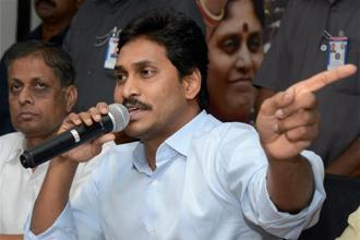 A file photo of YSR Congress Party chief Y.S. Jagan Mohan Reddy. Photo: PTI