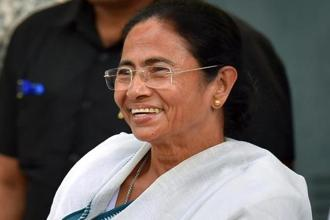 Trinamool Congress chief Mamata Banerjee will raise the issue against 15th finance commission during her meeting with the DMK leadership in Chennai from 10-11 April, senior party leader Derek O'Brien said. Photo: PTI