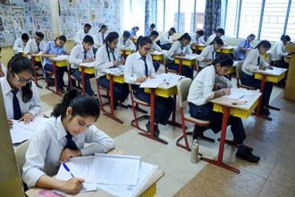 File photo. The next date of the examinations in Punjab will be announced soon by the CBSE board. Photo: PTI