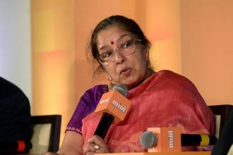 Shikha Sharma, MD and CEO of Axis Bank whose re-appointment for the top post is yet to be ratified by the RBI. Photo: Abhijit Bhatlekar/Mint