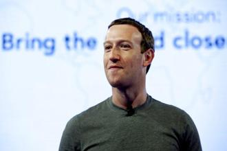 Facebook CEO Mark Zuckerberg said his company cares about its users, contrary to the popular perception. Photo: AP