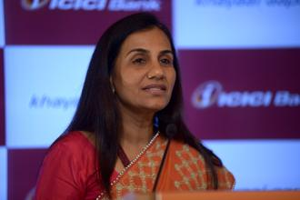 ICICI Bank CEO Chanda Kochhar was to be the guest of honour at the FICCI Ladies Organisation event, where she was to be felicitated by President Ram Nath Kovind. Photo: Abhijit Bhatlekar/Mint