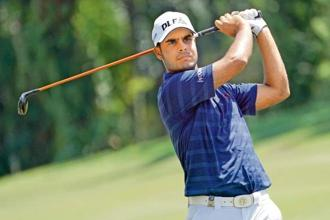 Shubhankar Sharma  has been paired with Larry Mize and Russel Henley at Augusta. Photo: Getty Images
