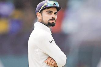 Virat kohli grabs second position in Test rankings. Photo: Reuters