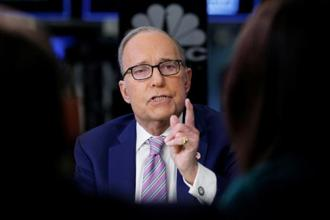 US National Economic Council director Larry Kudlow  said they still have time work out their differences. Photo: Reuters