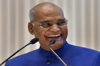 President Ram Nath Kovind. This is Kovind's third trip abroad since taking office in July and also his third visit to Africa. Photo: PTI