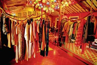 No Borders, a new vintage store in designer James Ferreira's heritage home, Mumbai. Photo: Abhijit Bhatlekar/Mint