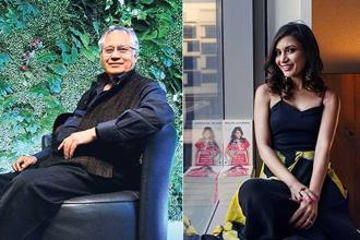 Shiv Khera, writer of the best-seller 'You Can Win', and Malini Agarwal of Miss Malini, a fashion and film blog.