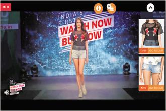 Over 42,000 people logged in to watch FBB's online fashion show on Hotstar and Facebook.