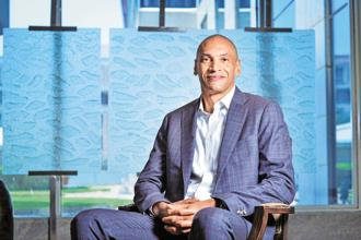Christopher Young, chief executive of McAfee that was spun off into a pure-play cybersecurity brand by Intel a year ago. Photo: Aniruddha Chowdhury/Mint