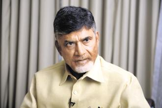 Chandrababu Naidu, chief minister of Andhra Pradesh. Photo: Abhijit Bhatlekar/Mint