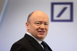 Deutsche Bank CEO John Cryan. While the bank said the loss was a one-off caused by US President Donald Trump's corporate tax reform, investors have shunned Deutsche since the start of the year, with its stock dropping around 30% in value since 1 January. File photo: AFP
