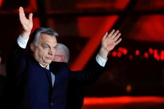 Viktor Orban has been defiant in the face of EU criticism, and some observers say the fact his Fidesz party is part of the European People's Party (EPP). Photo: Reuters