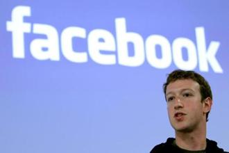 Facebook CEO Mark Zuckerberg speaks during a news conference at Facebook headquarters in Palo Alto. Photo: Reuters.
