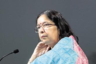 Axis Bank CEO Shikha Sharma will step down from the post on 31 December 2018. Photo: Bloomberg