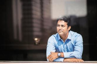 A few days after becoming the tennis player with most doubles victories in Davis Cup—43—Leander Paes says he does not fear retirement. Photo: Nayan Shah
