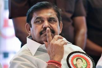 Tamil Nadu chief minister Edappadi K. Palaniswami on Wednesday held a meeting in Chennai with his deputy O. Panneerselvam and five other ministers to discuss the concerns over terms of reference of 15th Finance Commission. Photo: PTI