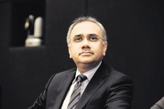 Infosys CEO Salil Parekh. Infosys used to host an analyst day annually when it was run by its founders—a practice that got diluted when CEO Vishal Sikka took over in 2014. Photo: Hemant Mishra/Mint