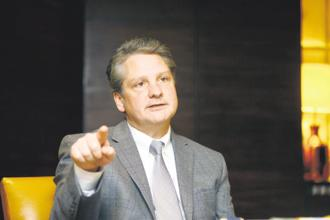 Vic Abate, senior vice president and chief technology officer of General Electric. Photo: Ramesh Pathania/Mint