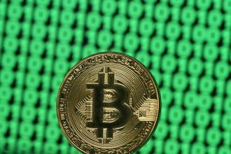 Bitcoin had swung wildly between gains and losses in December while reaching a record high of almost $20,000 before crashing. Photo: Reuters