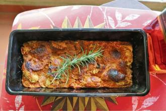 Stale croissant pudding with rosemary and rum. Photo: Samar Halarnkar