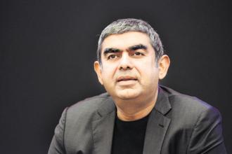 Infosys bought Panaya and Skava on former CEO Vishal Sikka's watch. It spent $320 million on the two and now, less than two years since the acquisitions, it has written down $90 million on the deals. Photo: Hemant Mishra/Mint