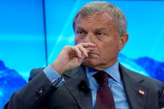 File photo: Sir Martin Sorrell, chief executive officer of WPP, attends the World Economic Forum (WEF) annual meeting in Davos, Switzerland, 23 January, 2018. Photo: Reuters