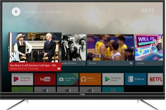 One of the brightest features of the Vu 4K Android TV is the Android TV platform, which is based on Android 7.0.