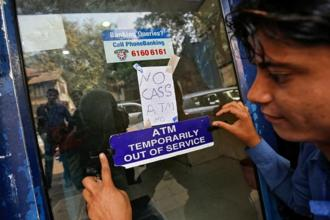 Although the government has stepped in and assured that it is taking steps to tackle the cash shortage at ATMs, the printing of notes by RBI appears to be taking some time. Photo: Reuters