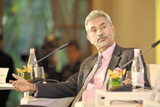 India's former foreign secretary S. Jaishankar at the MintAsia-Hindustan Times Leadership Summit in Singapore.