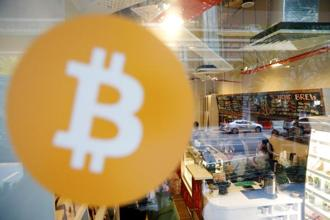 The crowds have thinned somewhat at Bitcoin Center, leaving just the true believers in the volatile cryptocurrency. Photo: Reuters