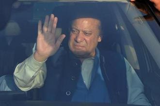 Former Pakistan prime minister Nawaz Sharif. Photo; AFP