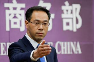 Chinese commerce ministry spokesman Gao Feng, above, said Beijing hopes Washington will not underestimate China's resolve to fight back during a media briefing in Beijing on Thursday. Photo: Reuters