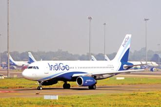 Despite operating with a reduced fleet, both IndiGo and GoAir flew more passengers in March, compared to February. Photo: Ramesh Pathania/Mint