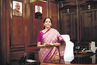 Defence minister Nirmala Sitharaman. The CDS was supposed to be drawn from India's armed forces and hold a rank above that of the three service chiefs. Photo: Pradeep Gaur/Mint