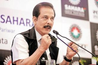 Sahara Group chief Subrata Roy, who has spent almost two years in jail, has been on parole since 6 May last year.  Photo: Reuters