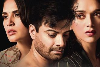 (From left) Richa Chadha, Rahul Bhat and Aditi Rao Hydari in 'Daas Dev'.