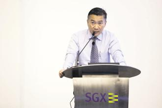 SGX CEO Loh Boon Chye. Singapore Exchange's third-quarter profit stood at S$100.5 million ($76.5 million), on revenue up 10% at a record S$222.2 million. Photo: Bloomberg