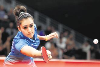 If Manika Batra were a country, she would have finished among the top 20 nations at the 2018 Commonwealth Games. Photo: Reuters
