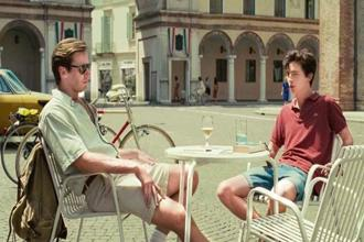 Armie Hammer and Timothée Chalamet in 'Call Me By Your Name'.