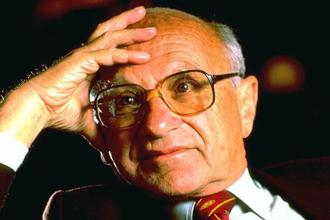 Milton Friedman. Photo: Getty Images