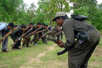 During searches, more than 12 Naxals' dead bodies have been recovered from the spot in Gadchiroli. Photo: AP