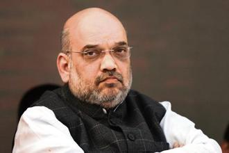 BJP president Amit Shah said if there is one political party that has trampled over the Constitution in letter and spirit, time and again, it is the Congress party. Photo: HT