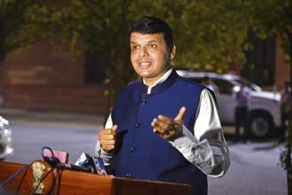 Maharashtra CM Devendra Fadnavis says the government will decide in the interests of the Konkan region, where the refinery is planned to be set up, and Maharashtra, indicating the project was on. Photo: HT